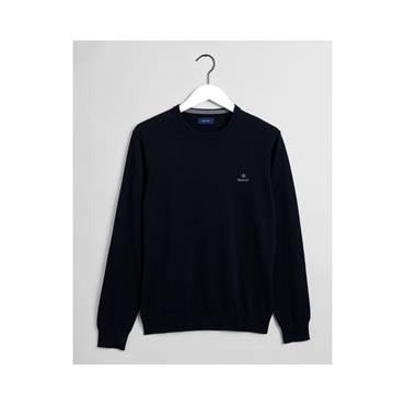 Classic Cotton Crew - 433 Evening Blue