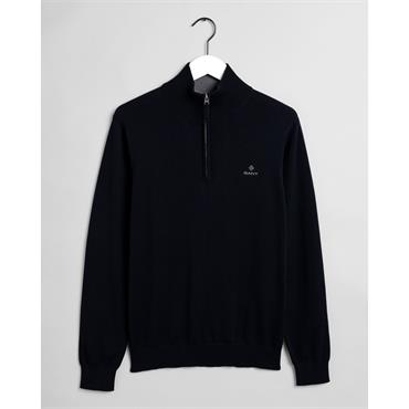 Classic Cotton Half Zip - 433 Evening Blue