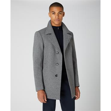 REMUS Uomo Lohman Coat - Grey