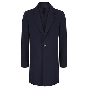 Remus Coat - Navy