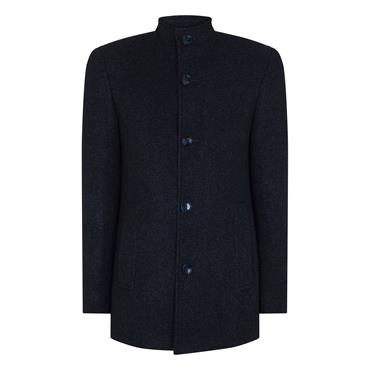 Remus Jonah Coat - Dark Blue