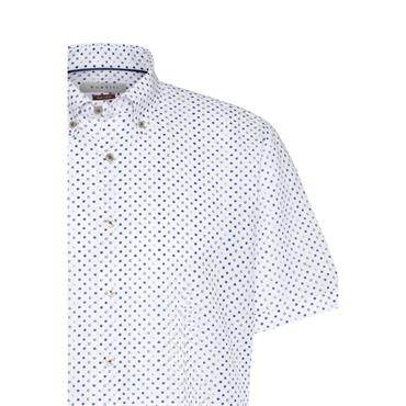 Bugatti S/s Shirt - Royal