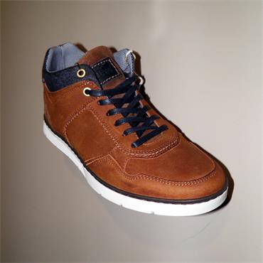 BYRNE Casual Shoe - CAMEL