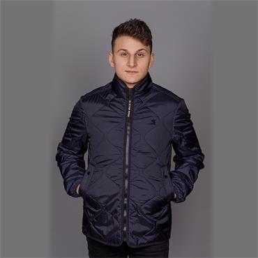 Edla ts liner overshirt - Mazarine Blue