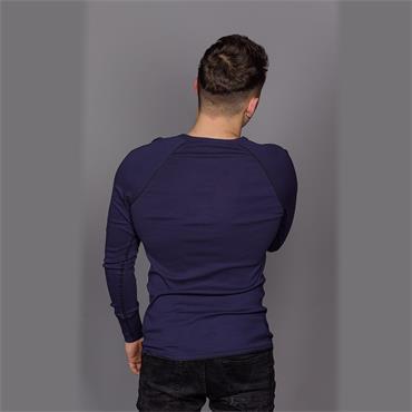 Korpaz Slim R T L/s - Sartho Blue