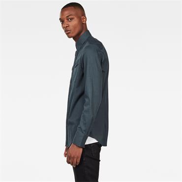 3301 Slim Shirt L/s - Balsam