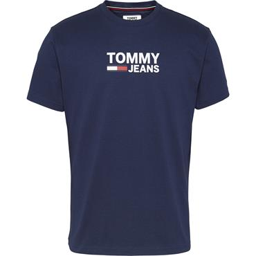 Classic Brand Logo T-Shirt Black Iris - Tommy Jeans