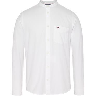 TJM MAO LINEN SHIRT - White