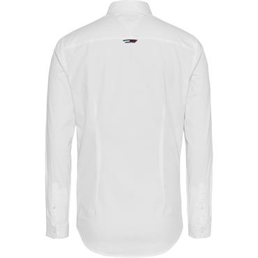 Tommy Jeans Oxford Shirt - White