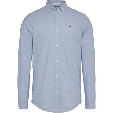 Tommy Jeans Oxford Shirt - Perfume Blue