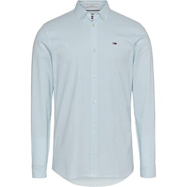 Tommy Jeans Oxford Shirt - Blue