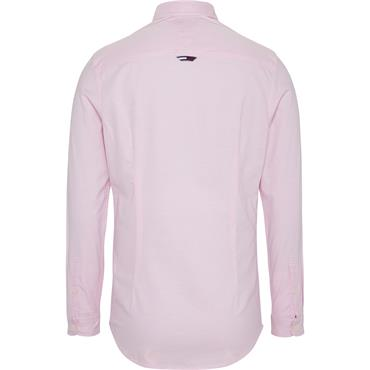 Tommy Jeans Oxford Shirt - Pink