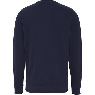 Multi Logo Crew Neck Sweatshirt Black Iris - Tommy Jeans