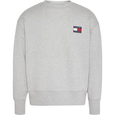 TOMMY JEANS BADGe Crew - GREY