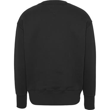 TOMMY JEANS BADGe Crew - Black