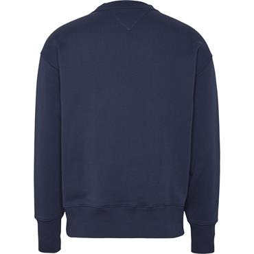 Tommy Jeans Badge Sweat - Navy
