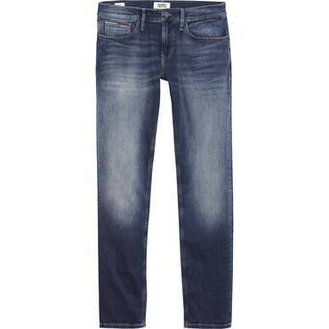 Slim Scanton Washed Denim Jeans Dark Blue - Tommy Jeans