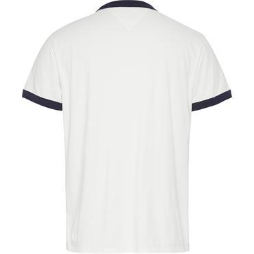 Tommy Jeans Ringer T - White
