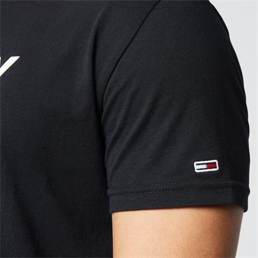 Tommy Jeans Corporate Logo T - Black