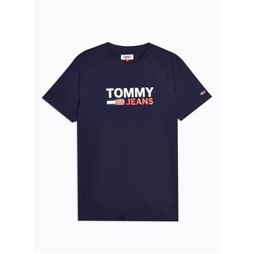 Tommy Jeans Corporate Logo T - Twilight Navy