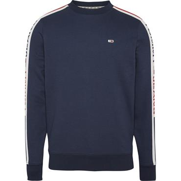 Tommy Jeans Branded Tape Sweat - Twilight Navy