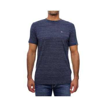 Tommy Jeans Branded Sleeve Heather T - SAIL BLUE HEATHER