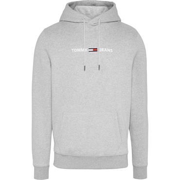Tommy Jeans Logo Hoody - Grey