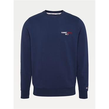 Tommy Jeans Chest Graphic Crew - Twilight Navy