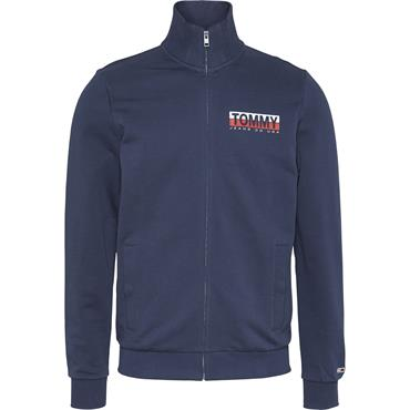 Tommy Jeans Graphic Zip Through - Twilight Navy