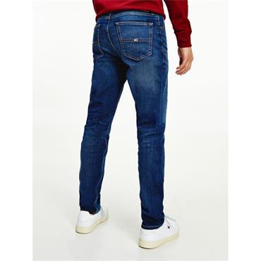 Tommy Jeans RYAN RLXD STRGHT - ASPEN DARK BLUE STRETCH