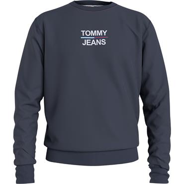 Tommy Jeans Essential Crew Sweat - Twilight Navy