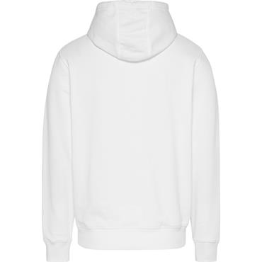 Tommy Jeans Essential Back Print Hood - White