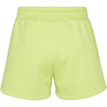TJ Womens Badge Sweat Shorts - Green