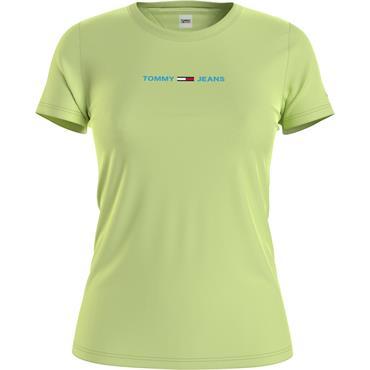 TJ Womens Slim Multi Linear T - Green