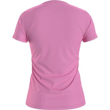TJ Womens Slim Multi Linear T - Pink