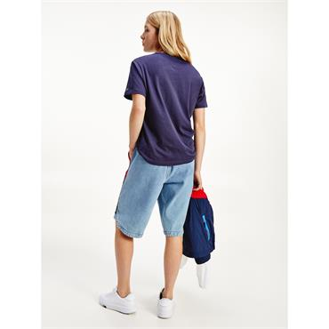 TJ Womens Relaxed Collegiate T - Twilight Navy