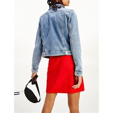 TJ Womens Vivianne Slim Denim Jacket - Denim