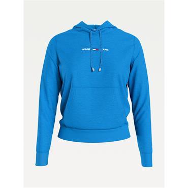 TJ Womens Linear Logo Hood - Blue
