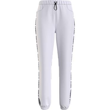 TJ Womens Relaxed Tape Jogger - White