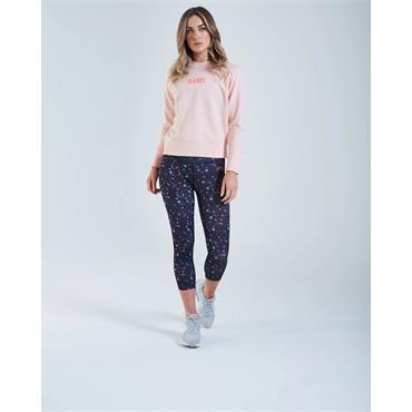 Diesel Womens Breeze Sweat - Washed Coral