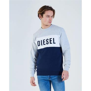 Diesel Anwar Sweat - Glacier Marl