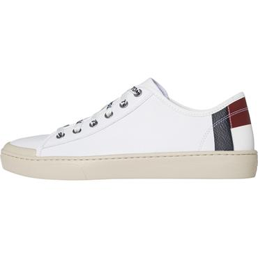 Light Leather Low - Bright White