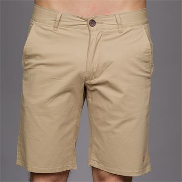 Hawk Twill Shorts, Light Sand - Farah
