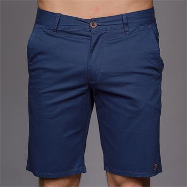 Hawk Chino Twill Shorts, Blue Star - Farah