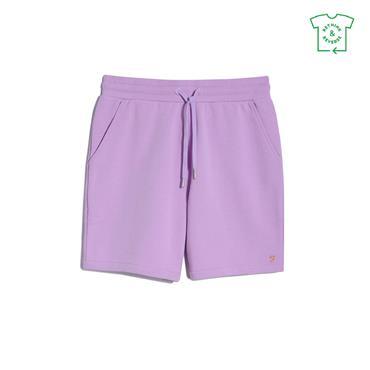 Farah Durrington Jersey Shorts - Pink Lavender