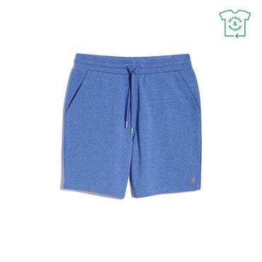 Farah Durrington Jersey Shorts - Blue Mist Marl