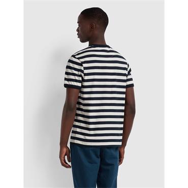 Belgrove Striped T - Ecru