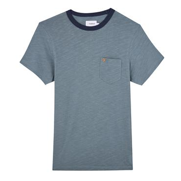 Groove Ss Pkt Tee - Clay