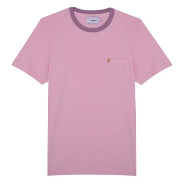 Groove Ss Pkt Tee - Pink Haze