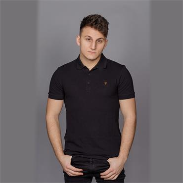 Blaney Ss Polo - Black